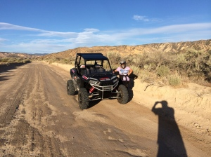 Off-roading in pine mountain club